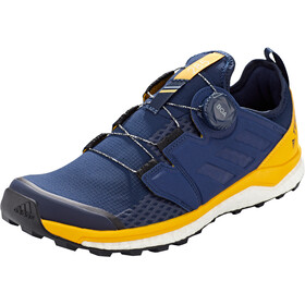 adidas TERREX Agravic Boa Chaussures Homme, collegiate navy/collegiate navy/active gold